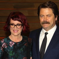 Megan-mulally-and-nick-offerman-photo
