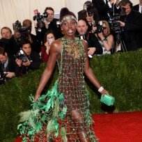 Lupita nyongo at the met gala