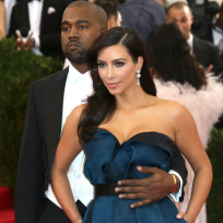 Kanye and Kim at MET Gala
