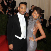 Chrissy teigen and john legend at the met gala