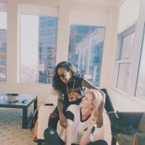 Angel haze and ireland baldwin