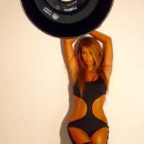 Kim Kardashian Blonde Pose