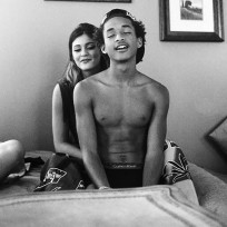 Kylie Jenner and Jaden Smith in Bed