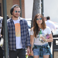Joel carouse and lucy hale
