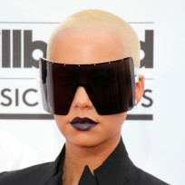What do you think of Amber Rose's sunglasses?