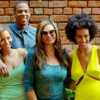 Beyonce solange knowles jay z and tina knowles
