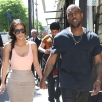 Kim and Kanye: Shopping in Paris