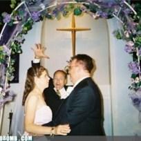 Pastor-photobomb