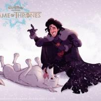 Game of Thrones Characters As Disney Cartoons!