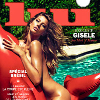 Gisele bundchen naked for lui
