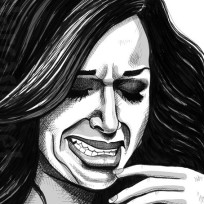 Farrah Abraham Crying Portrait
