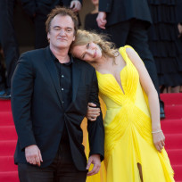 Quentin Tarantino and Uma Thurman