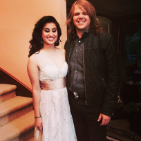 Caleb johnson and jena irene prom pic