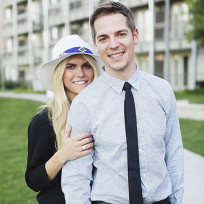 Lauren Scruggs and Jason Kennedy