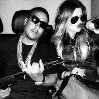 What do you think of Khloe Kardashian posing with a machine gun?