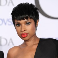 Jennifer hudson at fashion awards