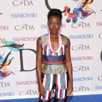 Lupita nyongo at fashion awards