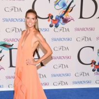 Heidi klum at fashion awards