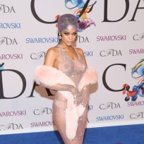 Rihanna Sexy Red Carpet Photo
