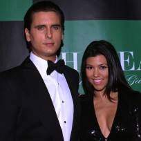 Kourtney Kardashian and Scott Disick Pic