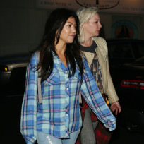 Kourtney Kardashian in Sag Harbor
