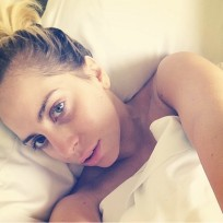 Lady Gaga No Makeup Instagram Selfie