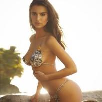 Emily Ratajkowski Semi-Nude