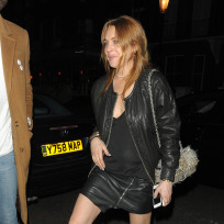 Lindsay Lohan Parties in London