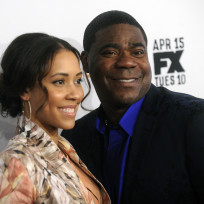 Megan wollover and tracy morgan photo