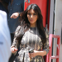 Kim Kardashian in W. Hollywood