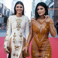 Kendall and kylie at muchmusic awards