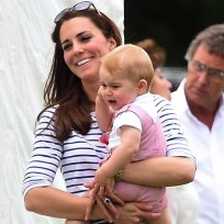 Kate and son