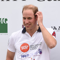 Prince William After the Match