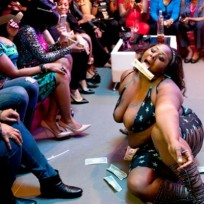 Kandi's Wedding Stripper