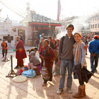 Derick and Jill in Nepal