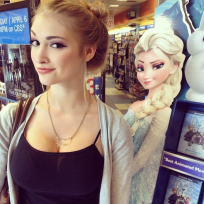 Anna faith carlson as elsa