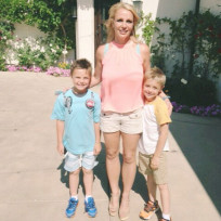 Britney spears sean and jayden pic