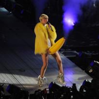 Miley Cyrus with a Banana