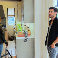 Kourtney and Scott Inside New Home