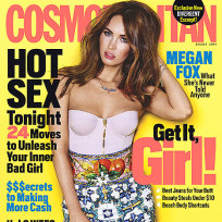 Megan Fox 2014 Cosmo Cover