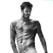 David beckham h and m pic