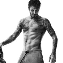 David Beckham in Sweat Pants