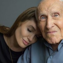 Louis zamperini and angelina jolie