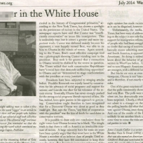 What do you think of a newspaper referring to President Obama as the N Word in a headline?