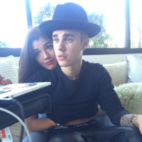Yovanna Ventura with Justin Bieber