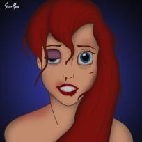 Battered-ariel