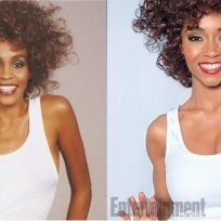 Yaya dacosta as whitney houston