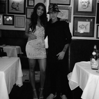 Justin Bieber and Yovanna Ventura Photo