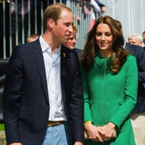 Kate-middleton-in-a-green-dress