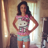 Bethenny frankel in daughters pajamas